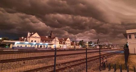 IMGW: Dziś znowu gwałtowne burze i upały - Grodzisk News