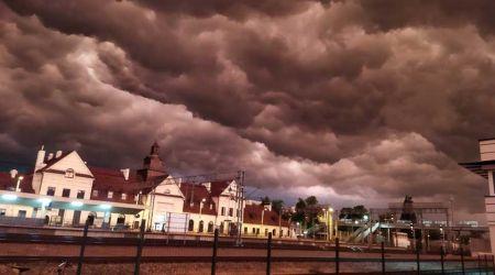 IMGW ostrzega: Dziś burze z gradem i silnym wiatrem - Grodzisk News