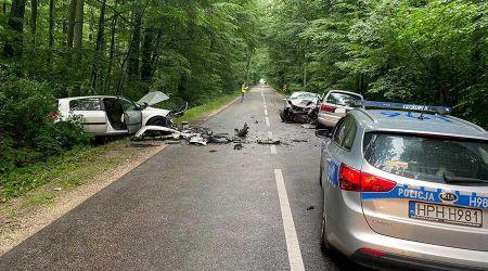 Mapa wypadków drogowych wypełnia się - Grodzisk News