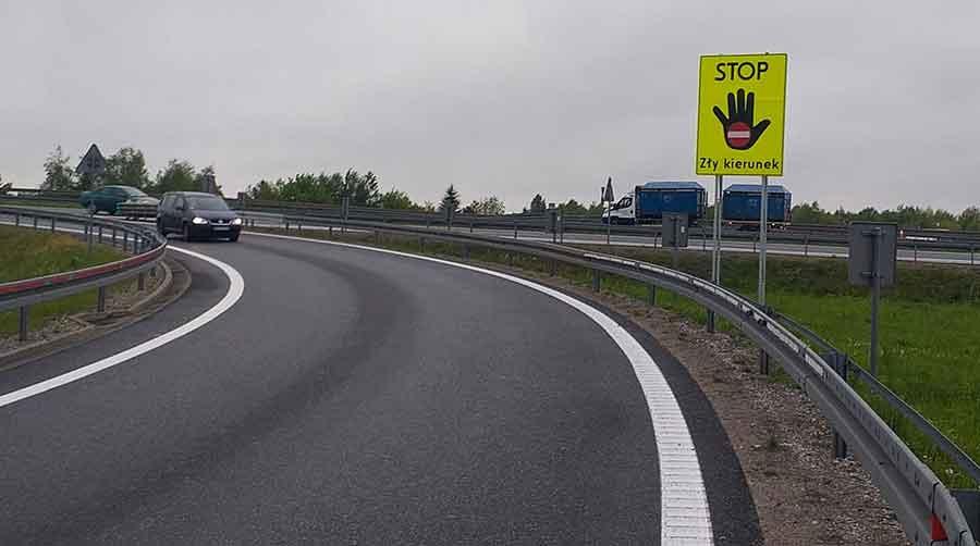 Nowe znaki ostrzegawcze na drogach krajowych - Grodzisk News