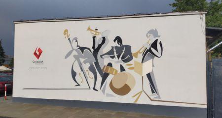 Nowy mural ozdobił Grodzisk - Grodzisk News