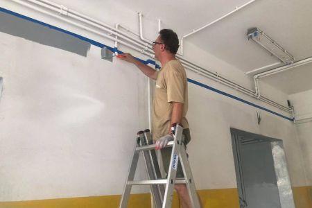 Strażacy remontują OSP w Międzyborowie [FOTO] - Grodzisk News