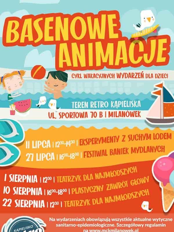 W sobotę start Basenu Retro w Milanówku - Grodzisk News