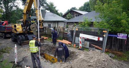Rozbudowują kanalizację w Milanówku  [FOTO] - Grodzisk News