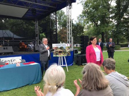 Umowa na budowę grodziskiej tężni podpisana - Grodzisk News