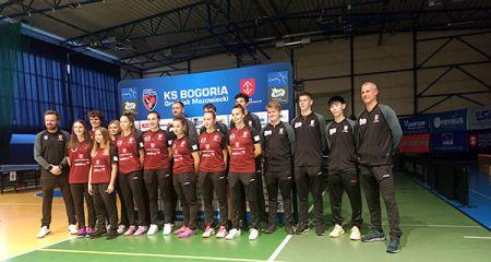 Bogoria z dwiema drużynami w ekstraklasie. Klub zaprezentował składy - Grodzisk News