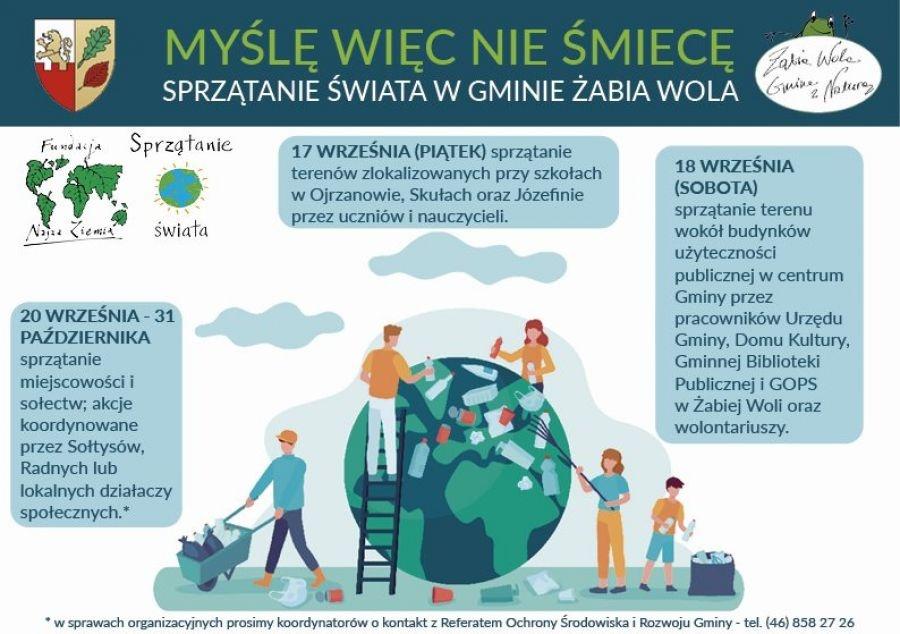 Finał Sprzątania Świata w Żabiej Woli - Grodzisk News
