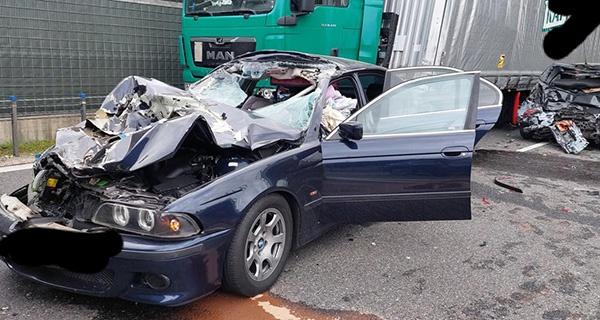 Karambol w Mszczonowie, zderzenie pięciu aut [FOTO] - Grodzisk News