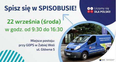 Spisobus przyjedzie do Żabiej Woli - Grodzisk News