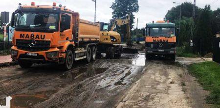 Ulice Langiewicza i Poniatowskiego mają być gotowe w grudniu - Grodzisk News