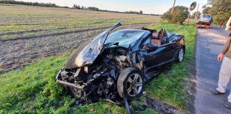 Wypadek w Milanówku. Dwie osoby w szpitalu - Grodzisk News
