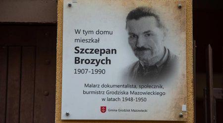 Grodzisk upamiętnił Szczepana Brozycha, dawnego burmistrza [FOTO] - Grodzisk News