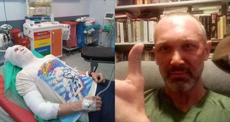 Grodzisk. Żołnierz wyniósł dziewczynkę z płonącego mieszkania, sam doznał poparzeń - Grodzisk News