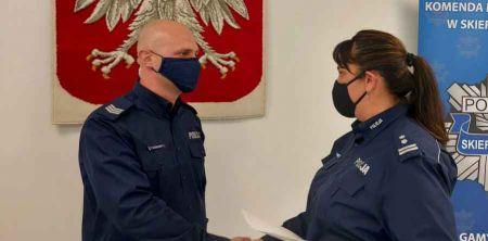 Policjant uratował życie niemowlęcia - Grodzisk News