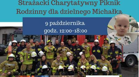 Trwa strażacki piknik dla Michałka - Grodzisk News