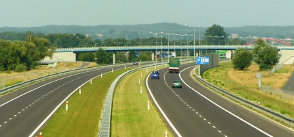 Autostrada wciąż w budowie