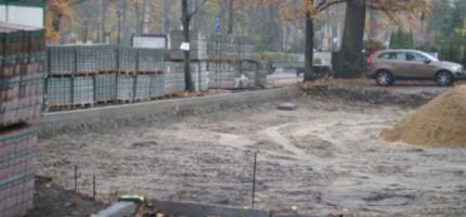 Rośnie parking na Bartniaka