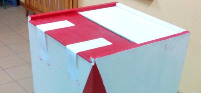 Podział na okręgi wyborcze w Podkowie