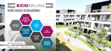 Eco Milan – nowe ekologiczne osiedle w świetnej lokalizacji