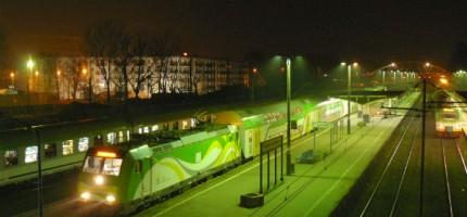 Kibice wstrzymali ruch pociągów