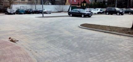 Nowy parking już jest