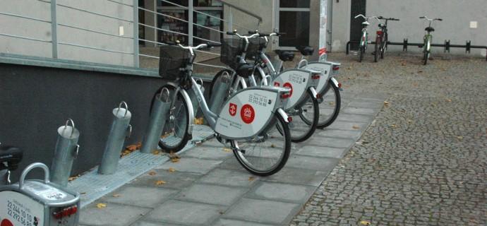 Grodziski Rower Miejski wysoko w rankingu miejskich wypożyczalni