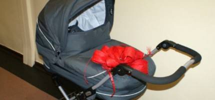 Wózek w prezencie dla Justynki