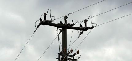 Napowietrzne linie energetyczne do lamusa