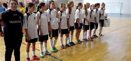 Piłkarki Mazovii zagrały na medal