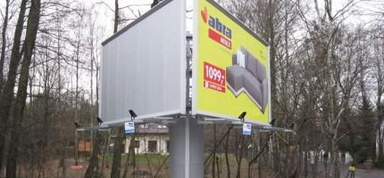 Podkowa powalczy z nielegalnymi reklamami