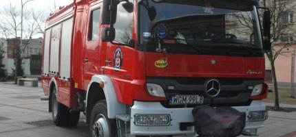 Koparka uszkodziła gazociąg. Utrudnienia na drodze