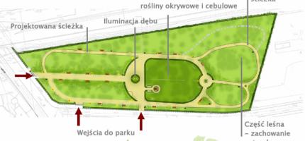 Rewitalizacja parku ruszy w wakacje