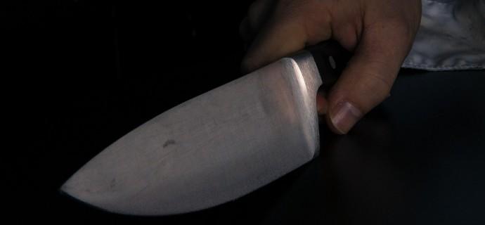Zaatakował partnerkę nożem