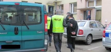 Aresztowani za handel ludźmi