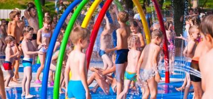 Przy basenie powstanie wodny plac zabaw