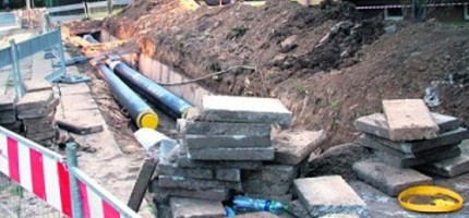 Budowa sieci wodociągowej zakończona