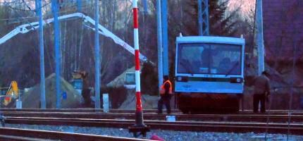 Wypadek na torach. Duże utrudnienia na kolei