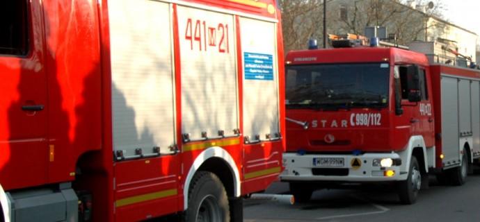 Poranne pożary w Kozerkach i Odrano Woli