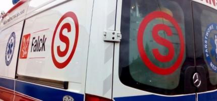 Wypadek trzech aut w Chylicach