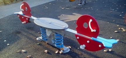 Nieczystości zalały plac zabaw