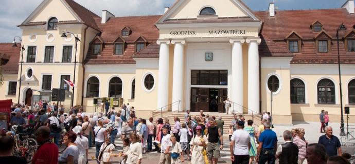 Huczne obchody 170-lecia kolei warszawsko-wiedeńskiej