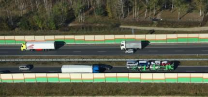 Ciężarówki nie będą wyprzedzać na autostradzie