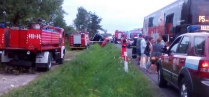 Policja: autobus był sprawny