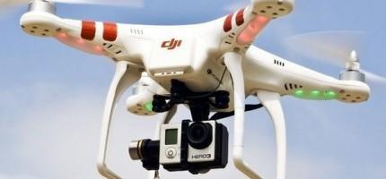 Nad Grodziskiem polata dron
