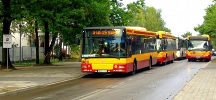 Kontrolują autobusy komunikacji zastępczej
