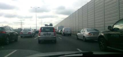 Karambol na autostradzie A2. Są ranni