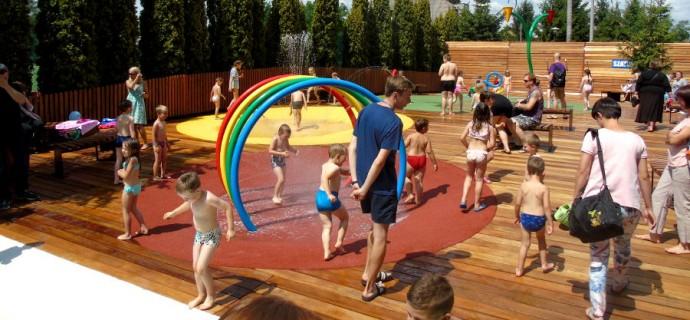 Wodny plac zabaw już otwarty