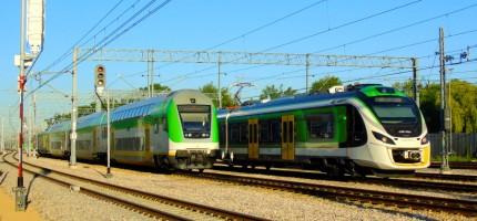 Awaria sterowania i opóźnienia pociągów