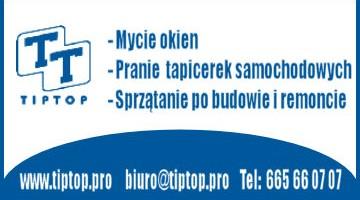 Firma Sprzątająca TIP TOP