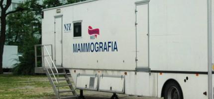 Lipcowa wizyta mammobusa w regionie